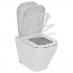 Tonic II - стояща тоалетна чиния с плътно прилепване към стената AQUABLADE®